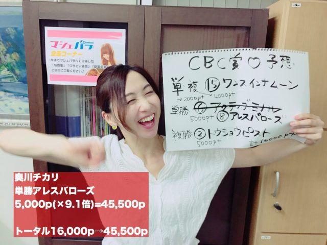 ウマバラ&Thursday!CBC賞(GIII)編の結果!