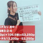 ウマバラ&Thursday!神戸新聞杯(GII)編の結果!