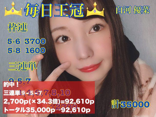 ウマバラ!毎日王冠(GII)編の結果!